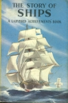 Vintage Ladybird book The Story of Ships 'Achievements Book' 2'6 HB ref100024