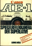 Canon AE-1 Spiegelreflexkamera der Superlative 1979 GERMAN Paperback Book refS4