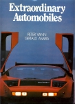 Extraordinary Automobiles by Peter Vann & Gerald Asaria 1985 HB Book with DJ ref1003