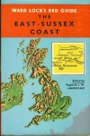 Ward Lock's Red Guide EAST SUSSEX COAST 1967 Hardback Book with DJ refS4