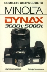 Complete User's Guide MINOLTA DYNAX by Heiner Henninges 1990 Paperback Book refS4
