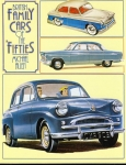 British Family Cars of the Fifties HB Book VGC by Michael Allen 1987 ref118 (1)