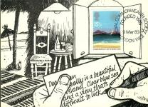 1983 John Hamon Commonwealth Society London Vintage Postcard refP1