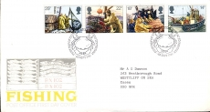 99P 1981-09-23 Fishing Industry Stamps FDC refE197