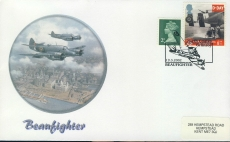 2002 Beaufighter D-Day stamp cover 19.3.2002 refd0013