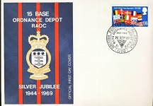 North Atlantic Treaty Organisation 1949 – 1969 Official stamp cover refD315