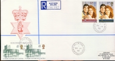 Prince Andrew Northern Ireland Killyleagh Downpatrick Co.Down Carrickfergus Castle 1992 stamps cover refD1779