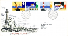 99P 1985-06-18 Safety at Sea Stamps FDC refE158