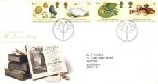 99P 1988-01-19 The Linnean Society Stamps FDC refE184