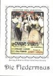 Die Fledermaus 1998 Burnley District Gilber Sullivan MECHANICS programme r164