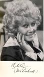 Elizabeth Dawn (Vera Duckworth) Coronation Street Cast printed signature card rcd22