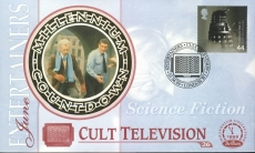 DALEK Doctor Who CULT TELEVISION Science Fiction London W1 Entertainers 1st June 1999 Dalek LTD ED stamp cover refE76 Benham Millennium Collection Limited Edition Cover