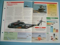 Helicopters andVertiplanes Aircraft of the World Card 97 Sikorsky S 65RH 53D