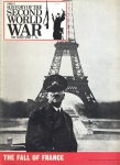 History of the Second World War no.7 The Fall of France MUSSOLINI Ref172