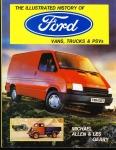 Illustrated History of FORD Vans Trucks & PSVs HAYNES 632 HB DJ VGC ref096