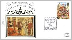 1989 BS36 800th Anniversary Lord Mayor's Show London EC Ltd Edition small silk cover refF81