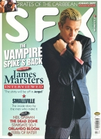 SFX magazine #108 cover 2 Johnny Depp Pirates of the Caribbean, James Marsters Vampire Spike's back ref100808