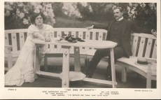 Miss Contance Collier, Lyn Harding Rotary Photo Vintage Postcard r211