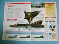 Modern Combat Aircraft of the World Card 101 SAAB J 35J Draken