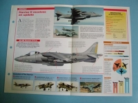 Modern Combat Aircraft of the World Card 102 McDonnell DouglasBAe AV 8B Harrier