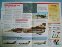 Modern Combat Aircraft of the World Card 107 Mikoyan Gurevich MiG 23BN Flogger