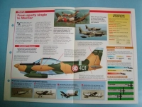 Modern Combat Aircraft of the World Card 109 SIAI Marchetti SF260