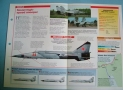 Modern Combat Aircraft of the World Card 128 Mikoyan Gurevich MiG 25R FOXBAT