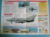 Modern Combat Aircraft of the World Card 137 Chengdu F 7 Chinese built