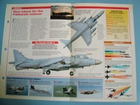 Modern Combat Aircraft of the World Card 63 British Aerospace Sea Harrier FAMk2