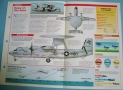 Modern Combat Aircraft of the World Card 68 Grumman E 2 Hawkeye