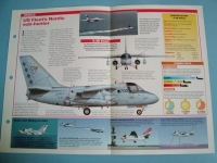 Modern Combat Aircraft of the World Card 73 Lockheed SES 3 Viking twin jet