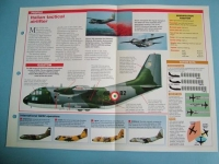 Modern Combat Aircraft of the World Card 74 Alenia Aeritalia G222 Italian