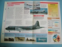 Modern Combat Aircraft of the World Card 76 Lockheed CP 140 Aurora