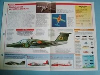 Modern Combat Aircraft of the World Card 82 SAAB 105 Austrian air defence