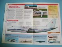 Modern Combat Aircraft of the World Card 87 Antonov AN124 Ruslan Condor