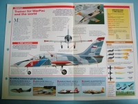 Modern Combat Aircraft of the World Card 90 Aero L 39L 59 Albatros Czech built