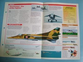 Modern Combat Aircraft of the World Card Mikoyan MiG 27 Flogger DJ