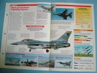 Modern Combat Aircraft of the World Card70 Lockheed Martin F 16C Fighting Falcon