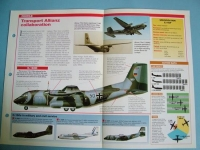 Modern Combat Aircraft of the World Card77 Transall C160 Franco German Tactical