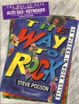 The Way to Rock STEVE POGSON 1991 BOOSEY & HAWKES Alto Sax + Keyboard VGC