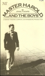 Master Harold and the Boys by Athod Fugard 1984 Market Theatre Tri-Foldout Programme refb1239