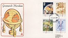 1984-06-25 Greenwich Meridian Stamps FDC Mercury First Day Cover refCD287