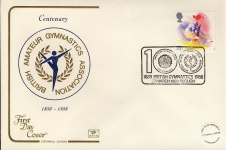 1988-03-22 Sport Stamps FDC Cotswold First Day Cover refCD276