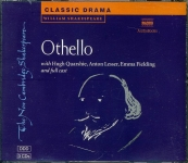 SHAKESPEARE Othello HUGH QUARSHIE, EMMA FIELDING Audio Book 3 CDs NA320612C  refS4 (1)