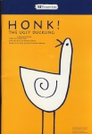 HONK! The Ugly Duckling Musical Comedy NT Theatre Programme refb1263