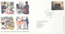 2001-03-21 Official Opening Tallents House 99p cover refcd470