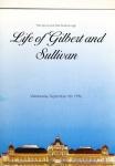 Life of Gilbert & Sullivan 1996 Spa Grand Hall Scarborough Theatre Programme refb1313