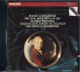 Philips The Mozart Experience VOL.2 Piano Concertos Afred Brendel ASMF Marriner CD 426 206-2 refm1095