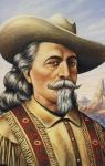 Buffalo Bill Wm. F. Cody 1846-1917 Frontier scout 1993 USPS Postcard refUSA P4 printed stamp