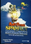 Phill Jupitus & Todd Carty Monty Python's SPAMALOT Congress theatre EASTBOURNE 2011 Programme refb100846